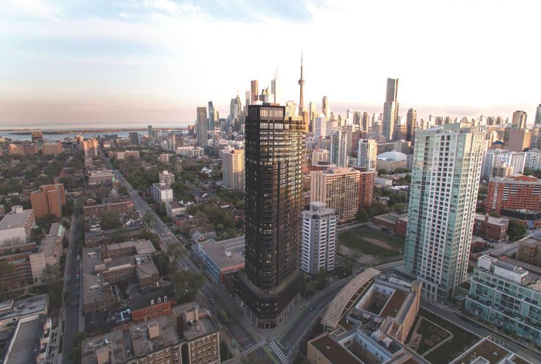 159SW Condos Aerial View Toronto, Canada