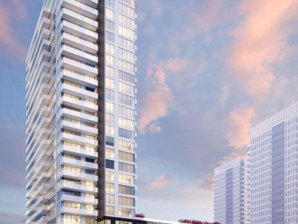 The Wyatt Condos Building View Toronto, Canada