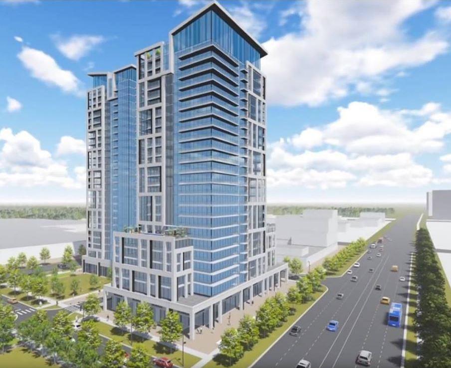 Charisma Condos Building View Toronto, Canada