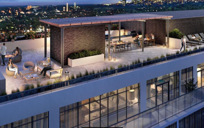 Canvas Condos Rooftop View Toronto, Canada
