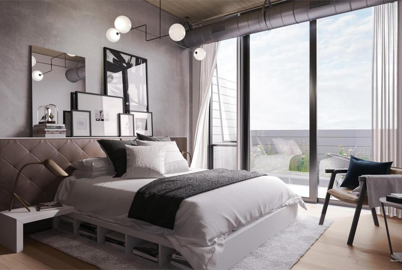 1001 Queen East Condos Bedroom Toronto, Canada