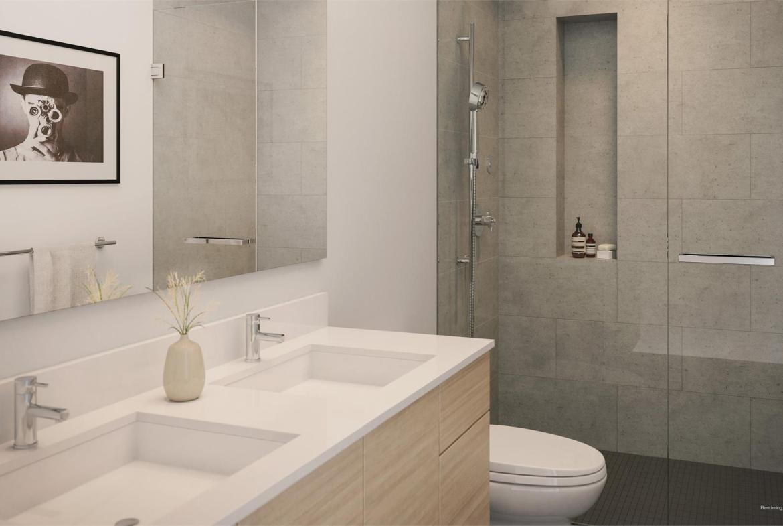 1001 Queen East Condos Bathroom Toronto, Canada
