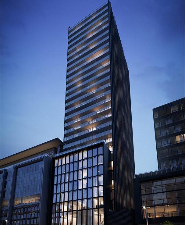 Bauhaus Condos Street View Toronto, Canada