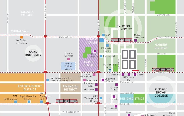 88 North Condos Map View Toronto, Canada