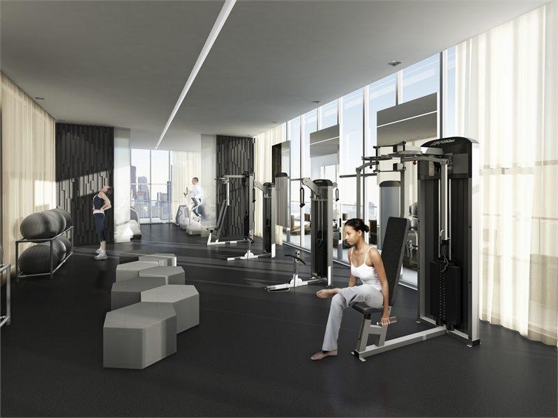U Condos Gym Toronto, Canada