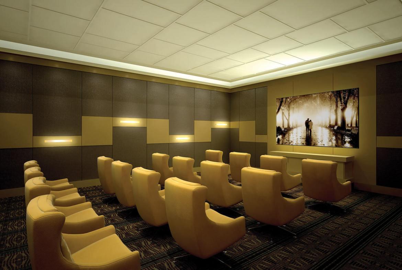 Parfait Condos Theater Room Toronto, Canada