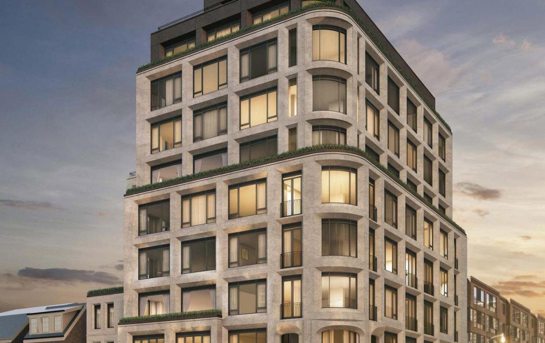 128 Hazelton Condos Building View Toronto, Canada