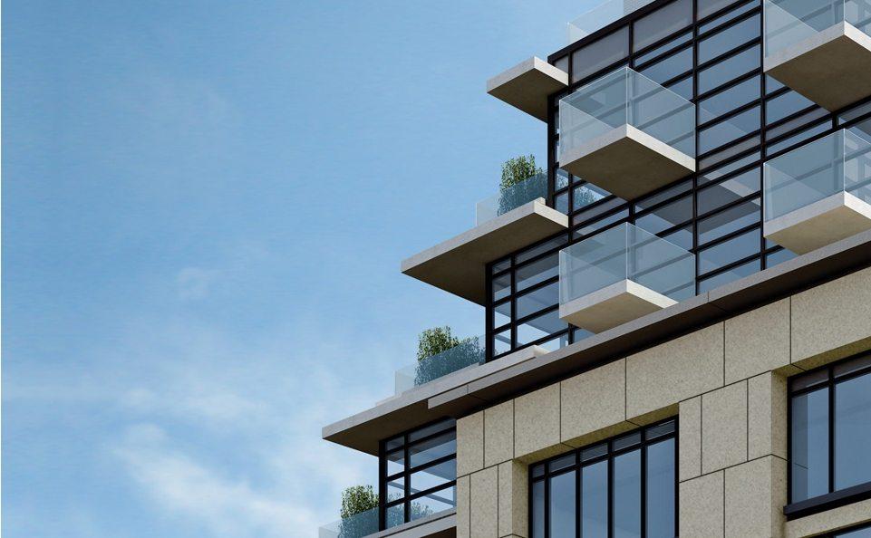 The Hill Condos Balcony View Toronto, Canada