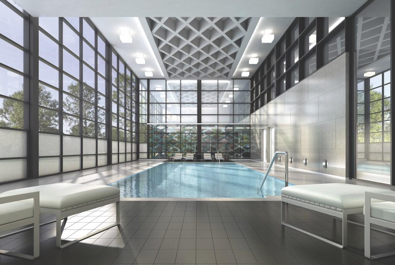 Mills Square Condos Swimming Pool Toronto, Canada