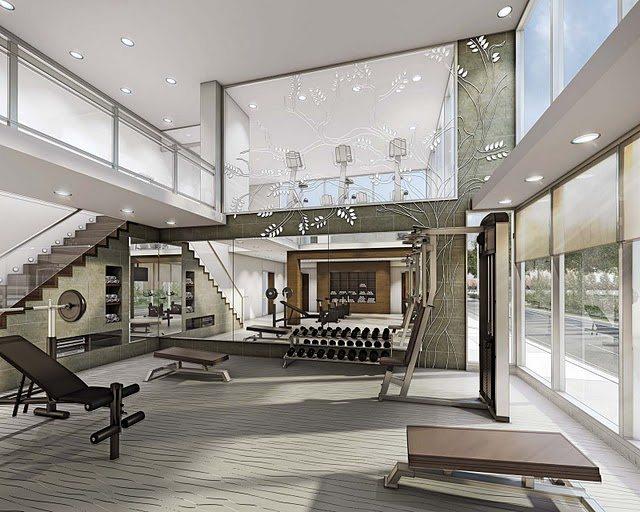 Minto Water Garden Condos Gym Toronto, Canada