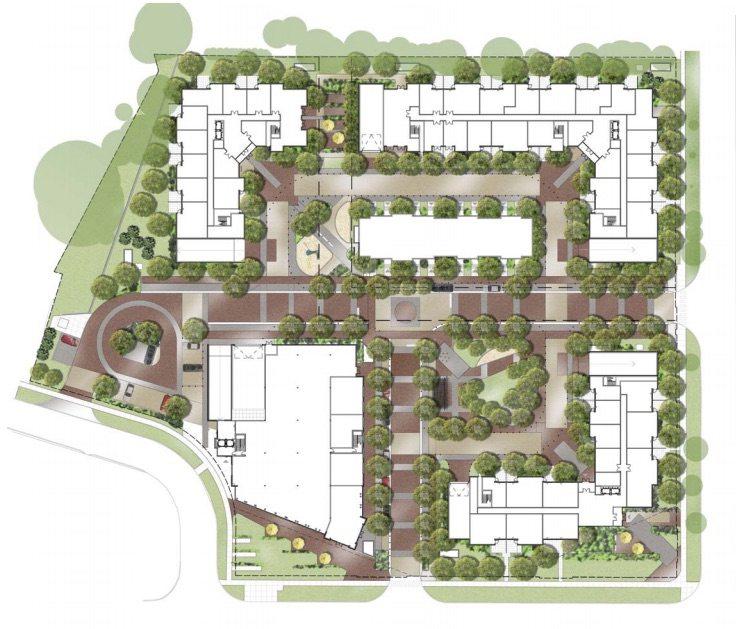 Backyard Condos Amenities Plan Toronto, Canada