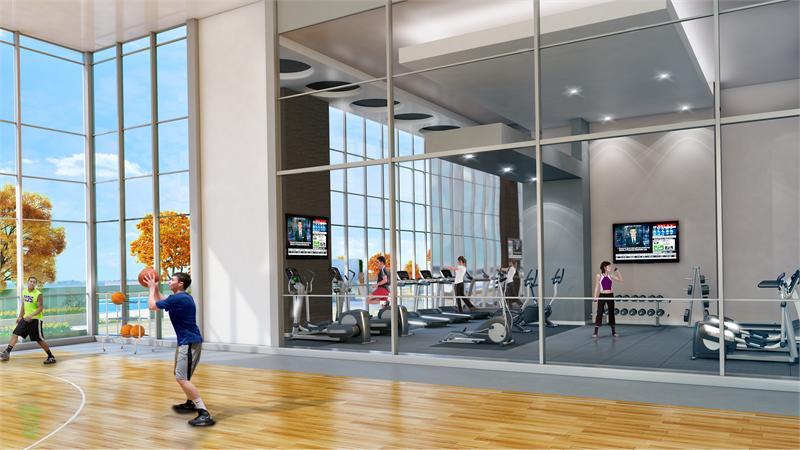 Paradigm Condos Fitness Center Toronto, Canada