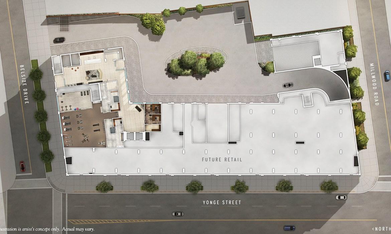 J. Davis House Condos Site Plan Toronto, Canada