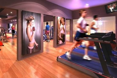 Park 570 Condos Gym Toronto, Canada
