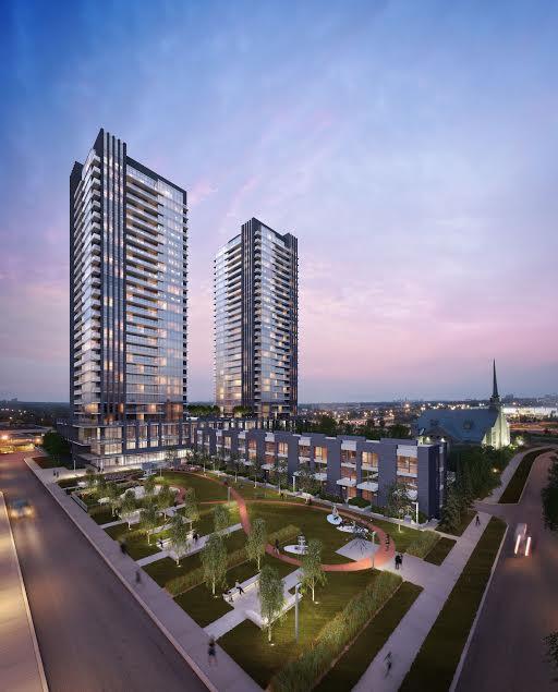 Sonic Condos Building View Toronto, Canada