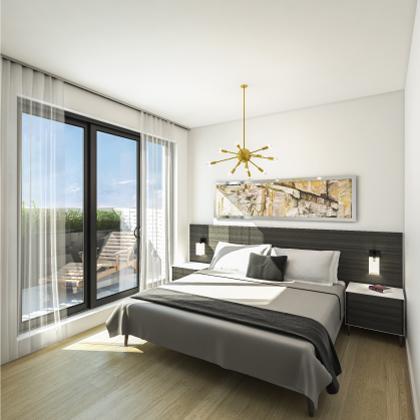Duke Condos Bedroom Toronto, Canada