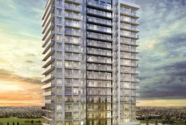 Mills Square Condos Building View Toronto, Canada