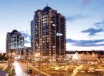 Centre-Park-Condos-Exterior-Dusk-by-Liberty-Development