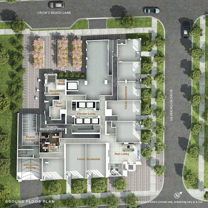 Vita Condos Amenities Plan Toronto, Canada