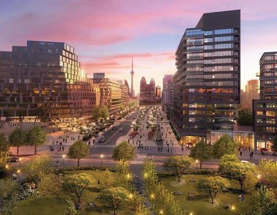 Canary Park Condos Building View Toronto, Canada