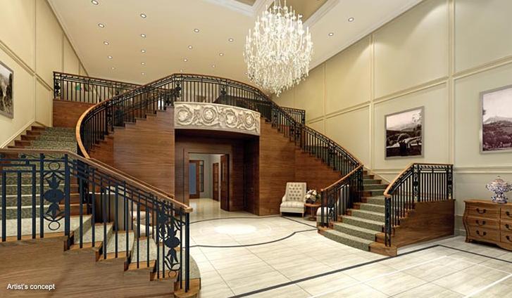 Capo di Monte Condos Stairs Toronto, Canada