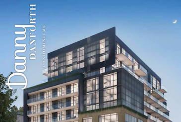 Danny Danforth Condos in Toronto by Gala Developments