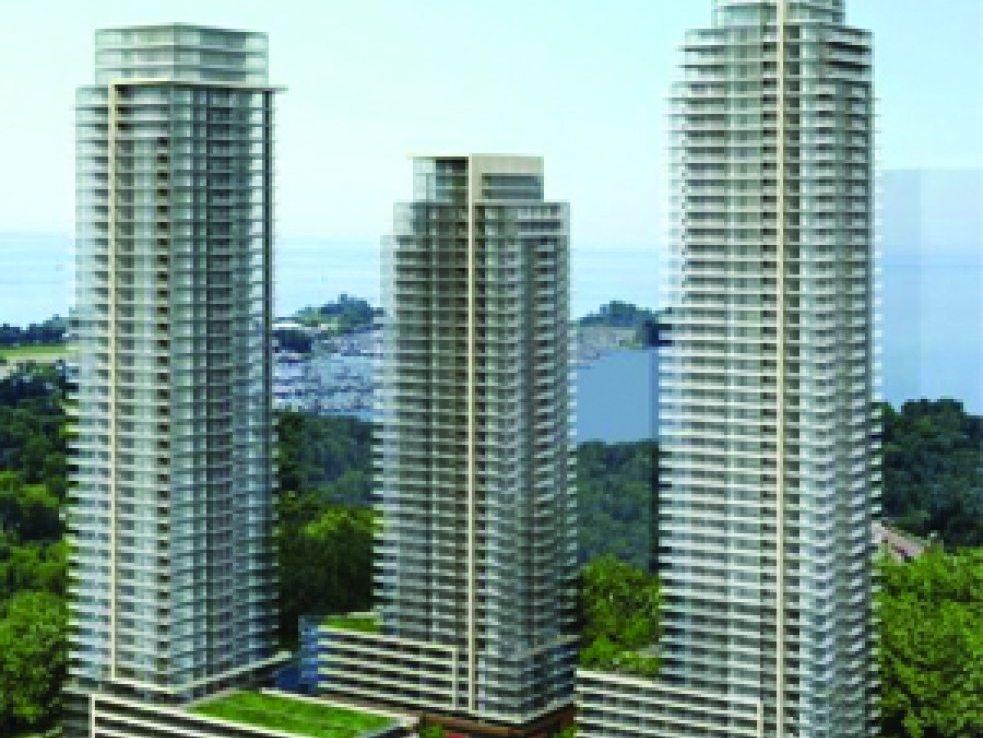 Westlake Condos Building View Toronto, Canada
