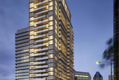 Fly Condos Building View Toronto, Canada
