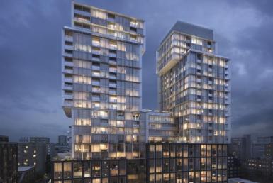 St. Lawrence condos Building View Toronto, Canada