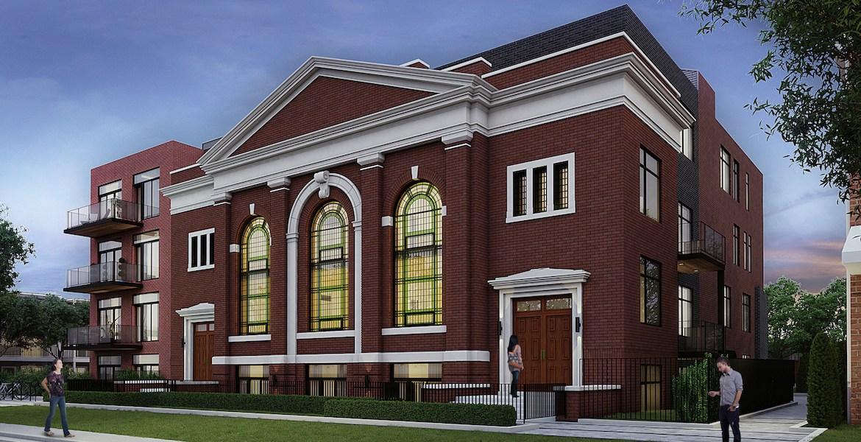 Sunday School Condos Street View Toronto, Canada