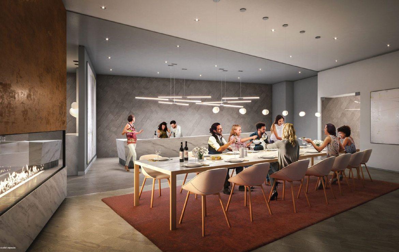 M City Condos Wine Lounge Toronto, Canada