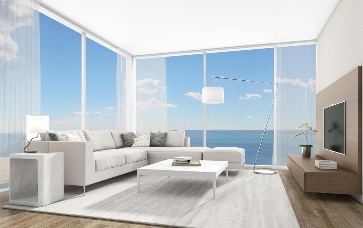 Rendering of Nautique Lakefront Residences 2 bedroom suite