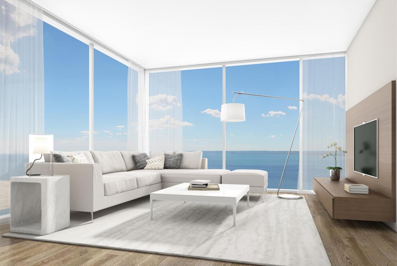 Rendering of Nautique Lakefront Residences 2 bedroom suite