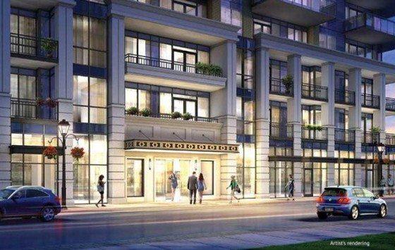 The Berkeley Condos Front View Toronto, Canada