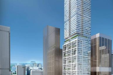 Holt Renfrew Tower Condos Street View Toronto, Canada