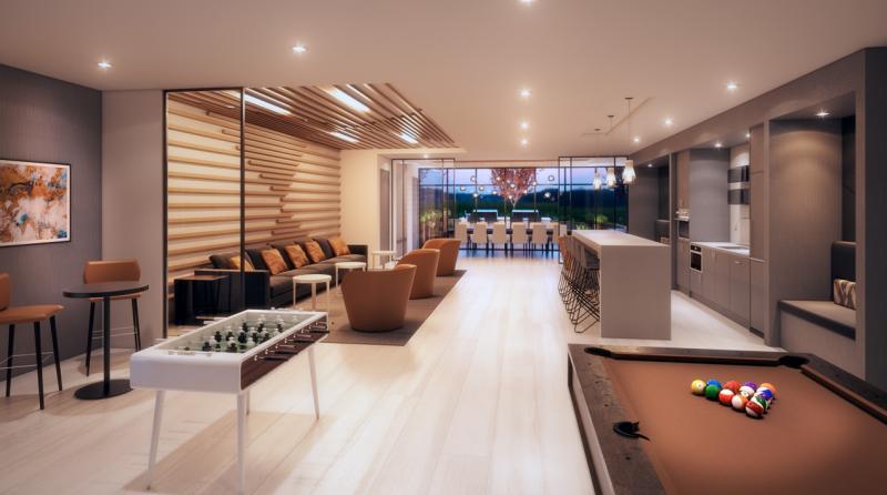 Vivo Condos Billiards Toronto, Canada