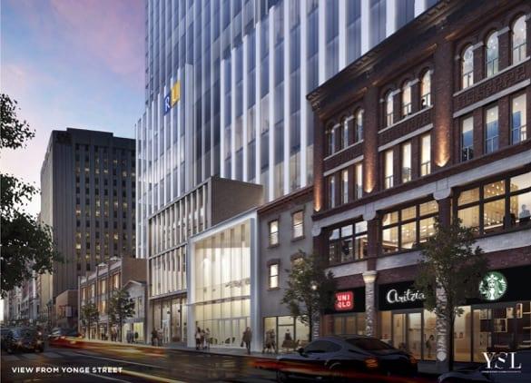 YSL Residence Condos in Toronto