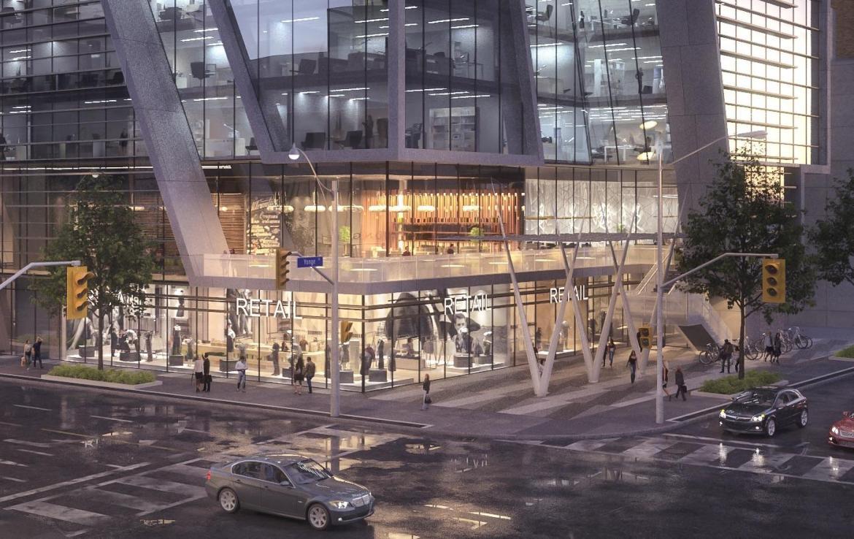 1 Eglinton East Condos Front View Toronto, Canada