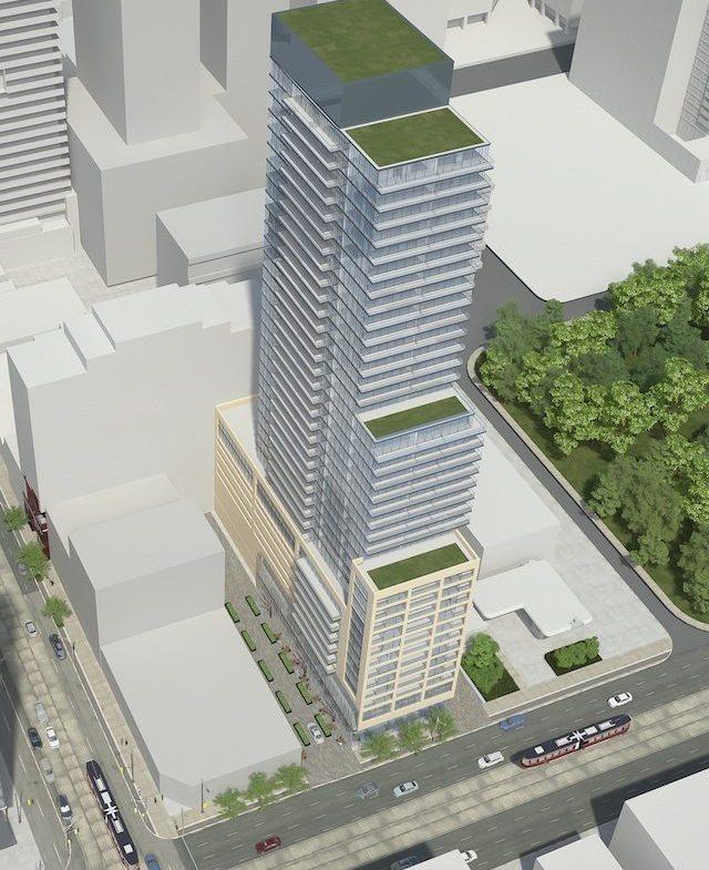 57 Spadina Condos Building View Toronto, Canada