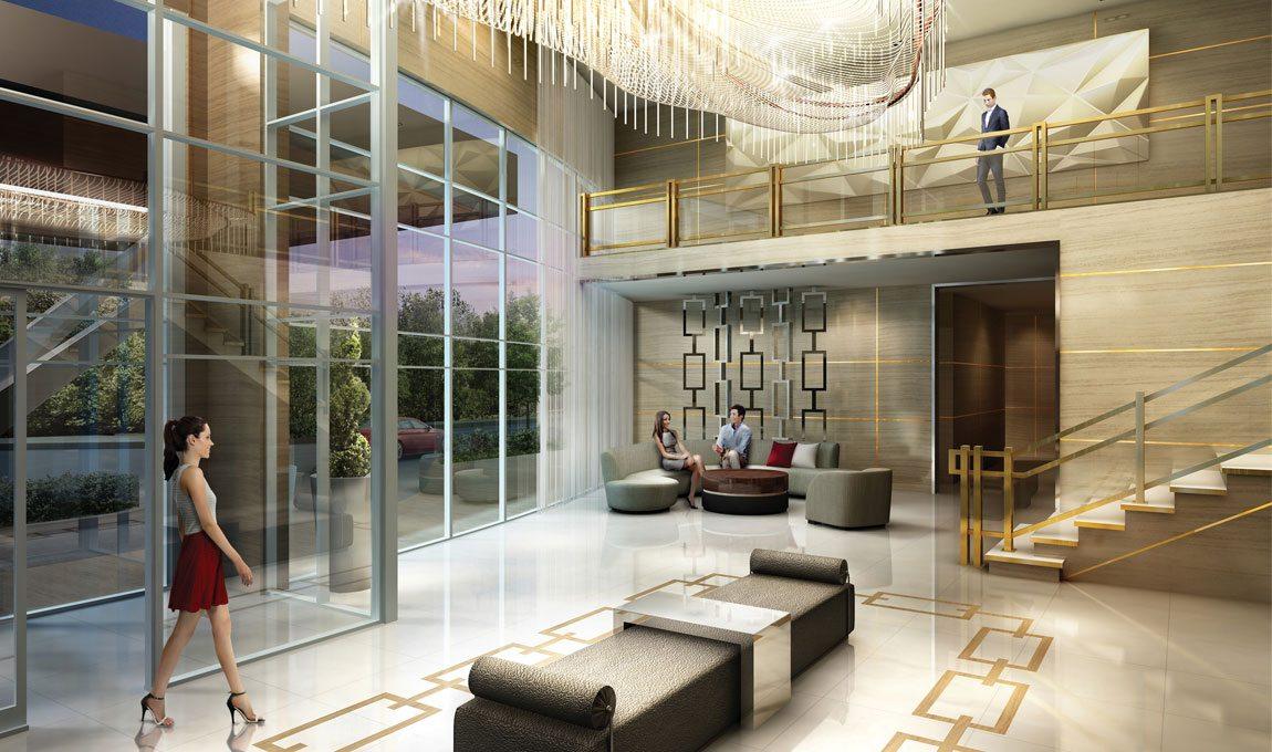 5959 Yonge Condos Lobby Toronto, Canada