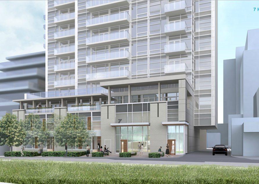 7 Heath Street East Condos Front View Toronto, Canada