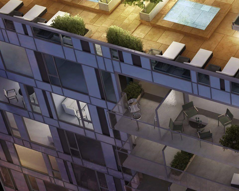 83 Redpath Condos Terrace Lounge Toronto, Canada