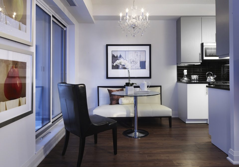 83 Redpath Condos Kitchen Toronto, Canada