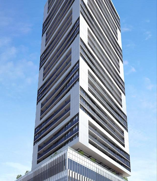 Alter Condos Building View Toronto, Canada