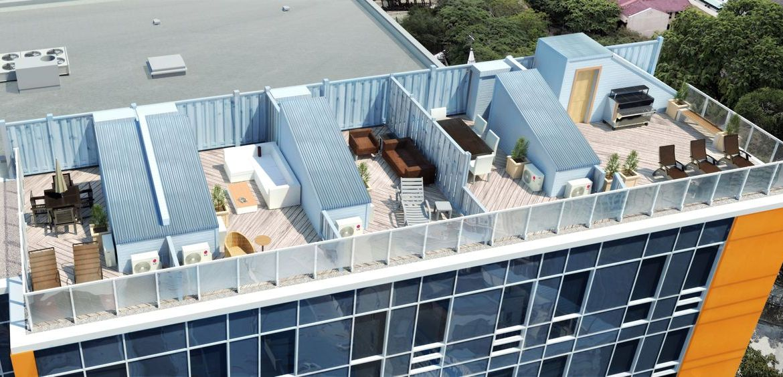 Cornerstone Terrace Condos Terrace Lounge Toronto, Canada