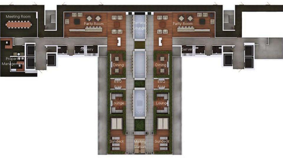 DNA3 Condos Property Plan Toronto, Canada