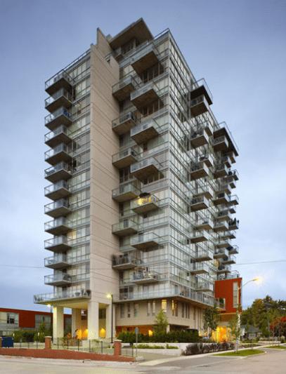 Dia Condos Building View Toronto, Canada