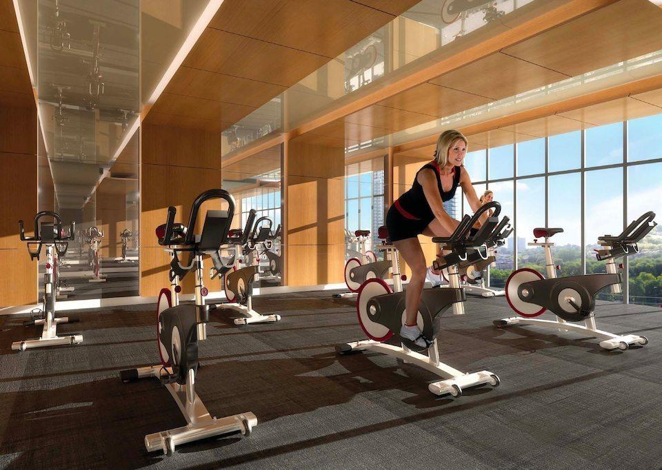 Eau du Soleil Condos Fitness Center Toronto, Canada