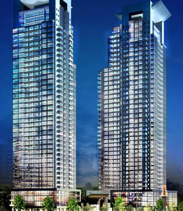 Gibson Square Condominiums Street View Toronto, Canada