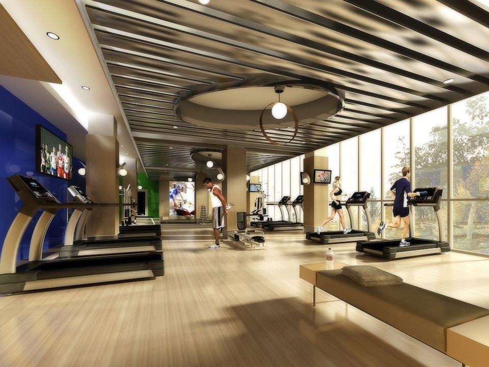 Gibson Square Condominiums Gym Toronto, Canada